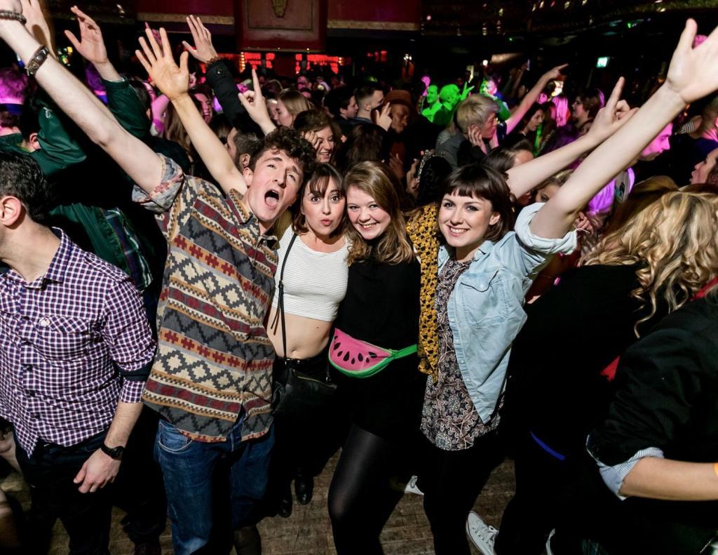 молодежная дискотека