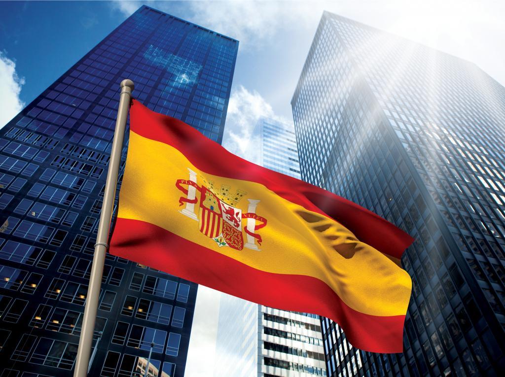 Небоскребы в Испании.