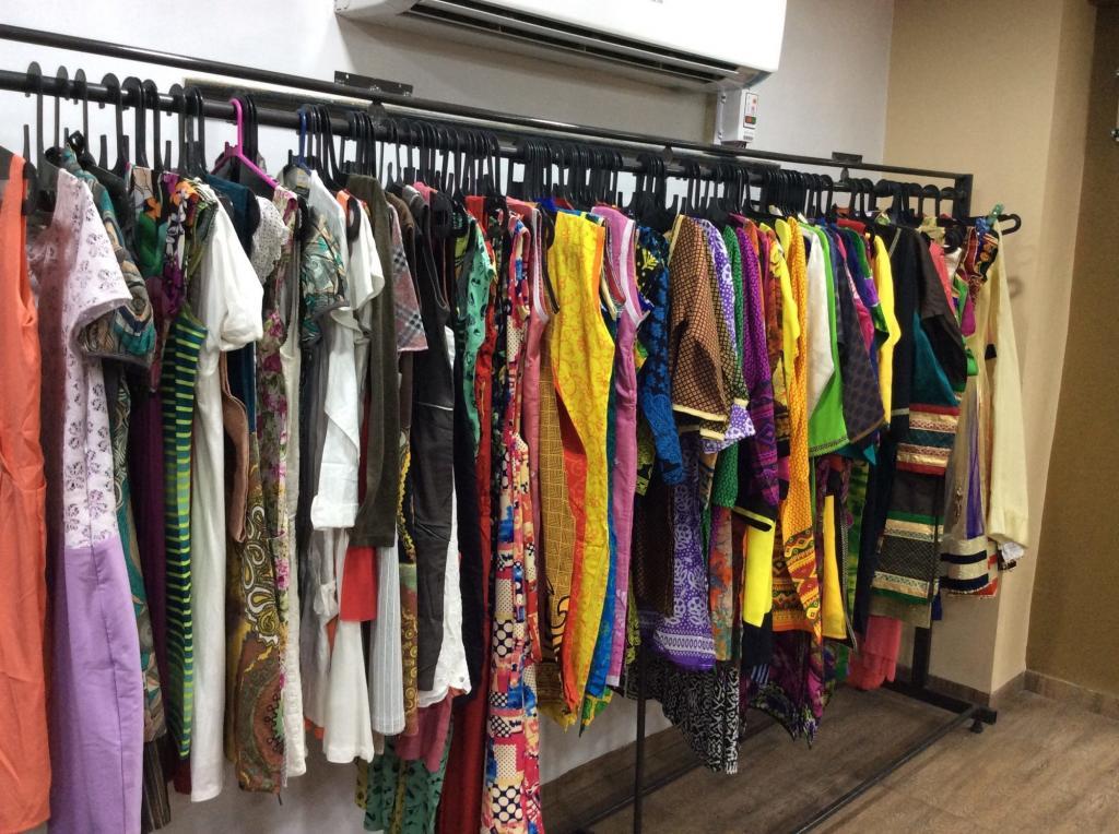 Одежда в шоуруме