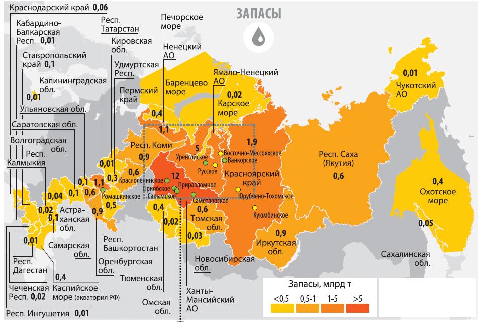 лидеры по добыче нефти в мире