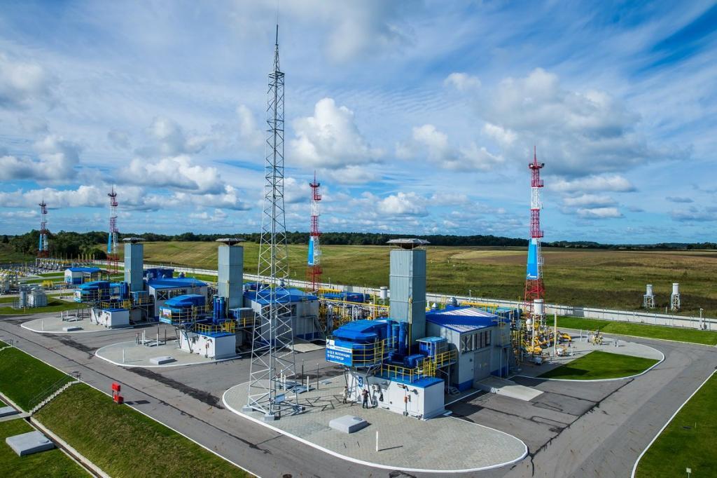 Газпром в Европе.
