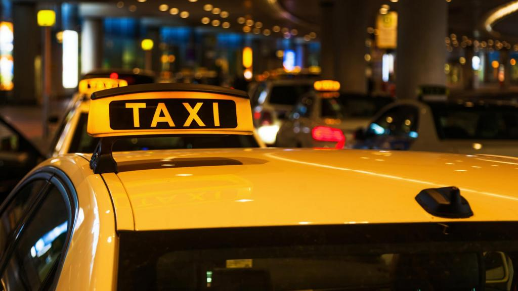 Ночное такси.
