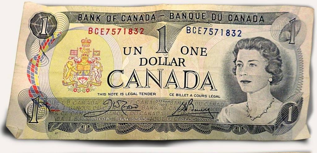 Канадский доллар фото купюр
