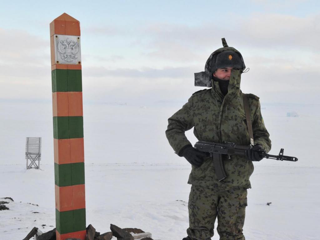 Солдат на границе