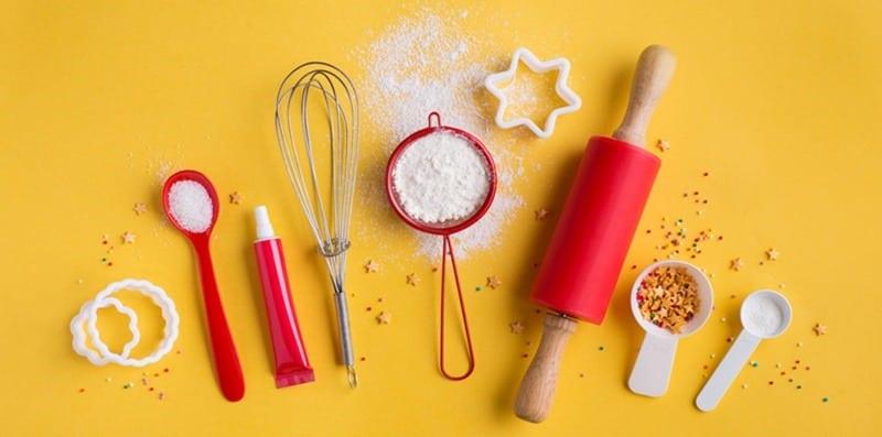 инструменты для создания торта