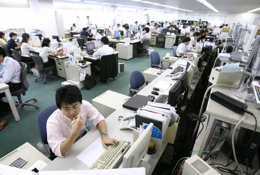 Японцы работают