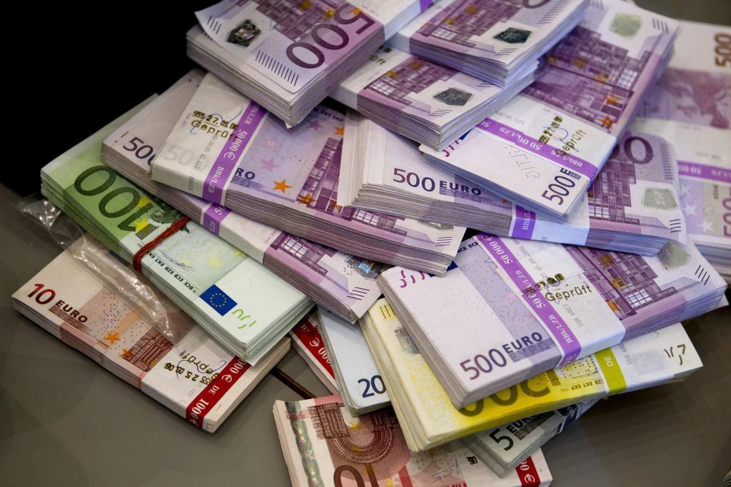 Европейские деньги.