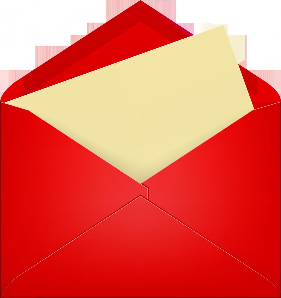 Конверт с письмом