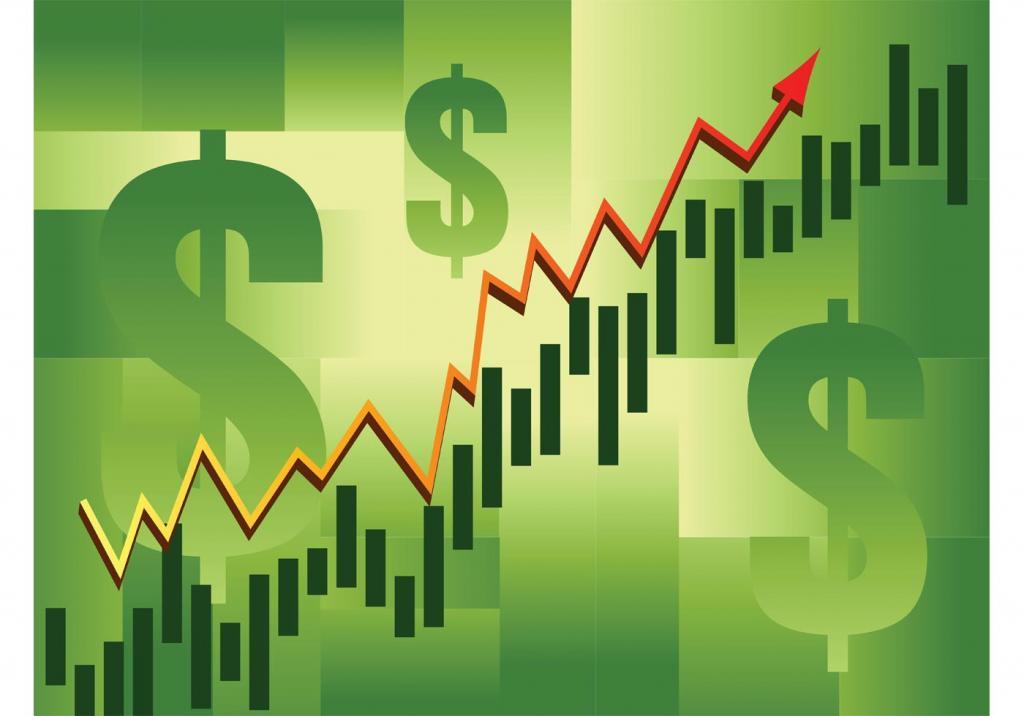 Рост курса доллара.