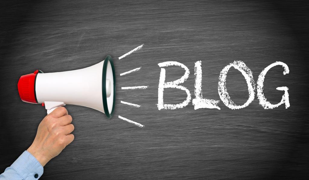 Блог и мегафон.