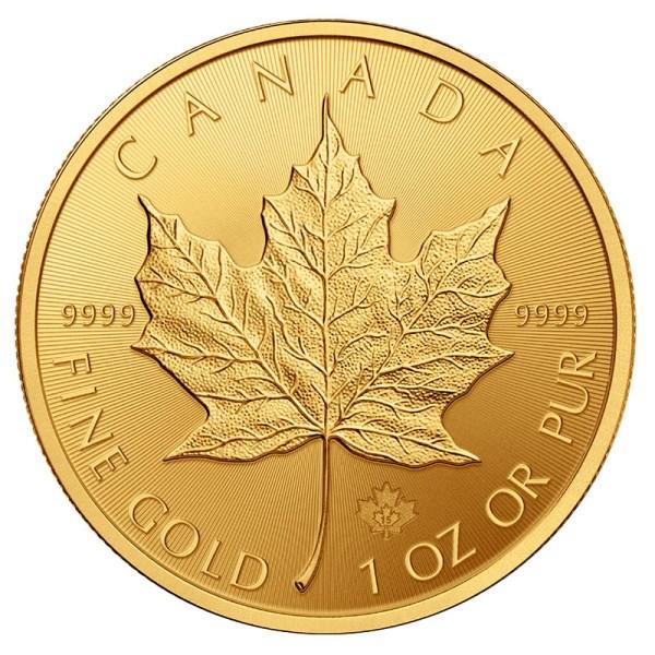 Золотая монета Канады