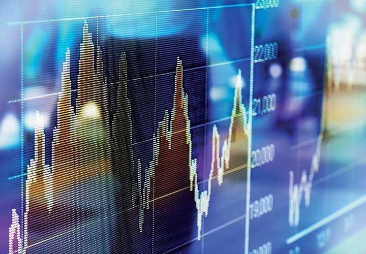 График акции