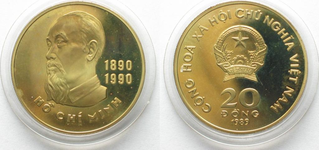 монета 20 донгов