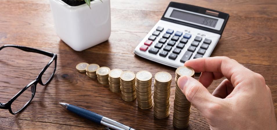 Калькулятор и монетки