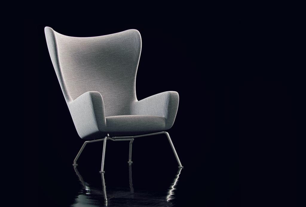 Производственный стул с высокой спинкой