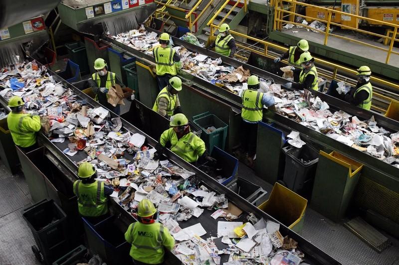 Завод по переработке вторсырья