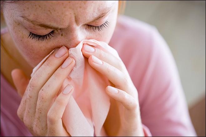 Человек с аллергией