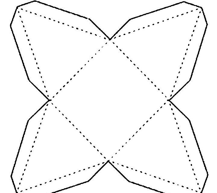 бонбоньерки шаблоны