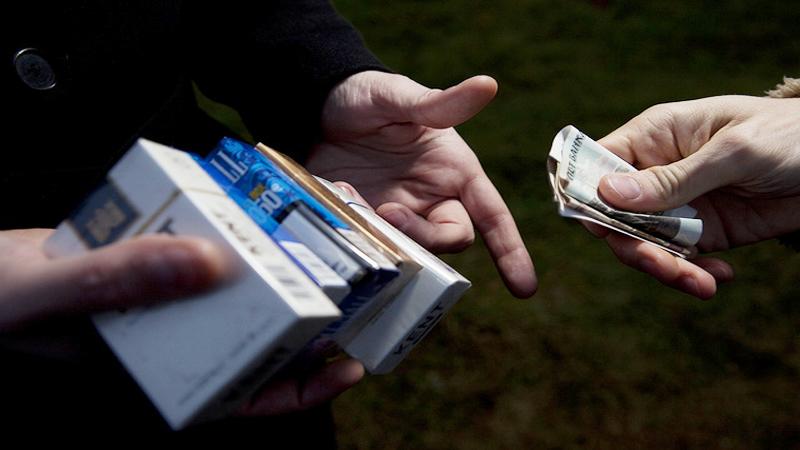 розничная торговля сигаретами