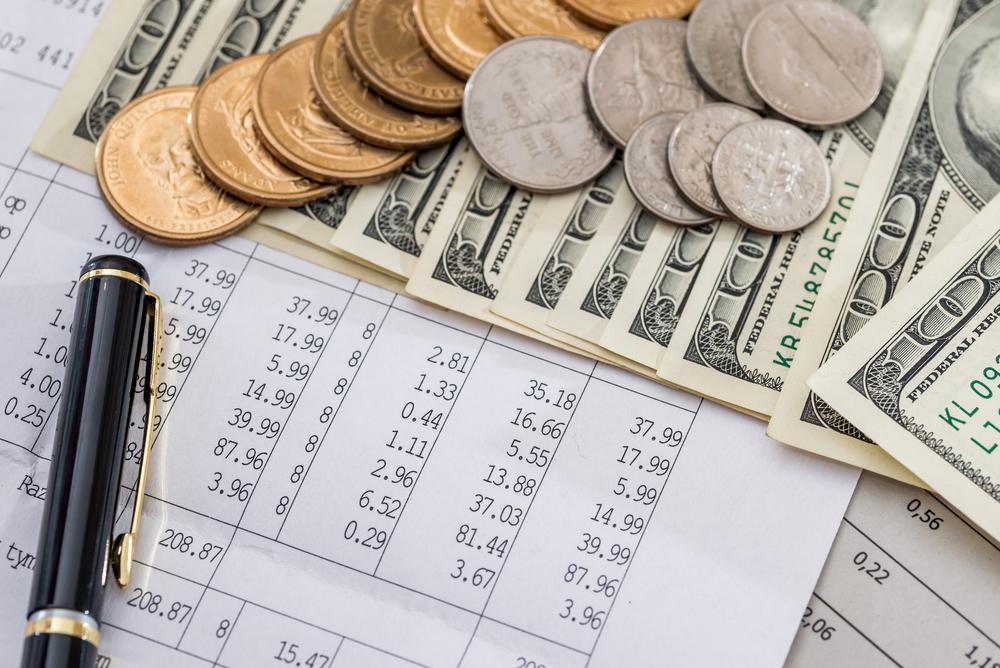 Подсчет расхода денежных средств.