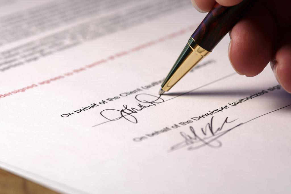 критерии визирования документов