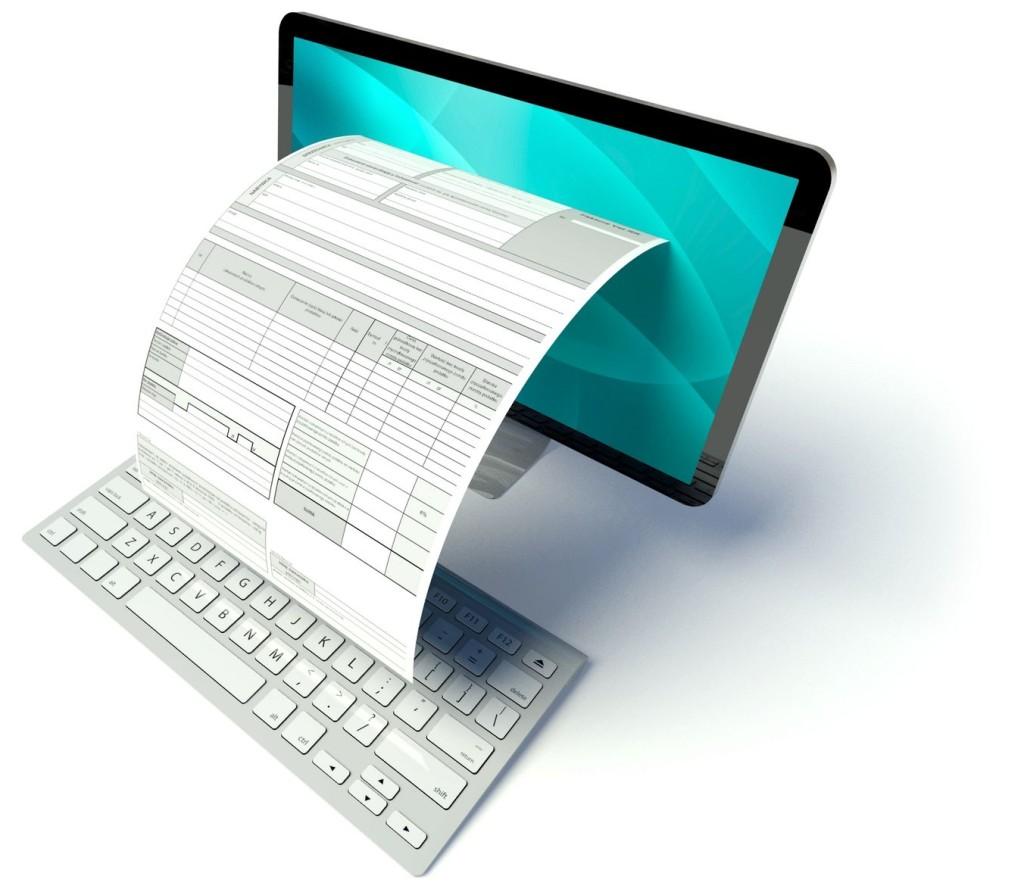 Печать готового документа