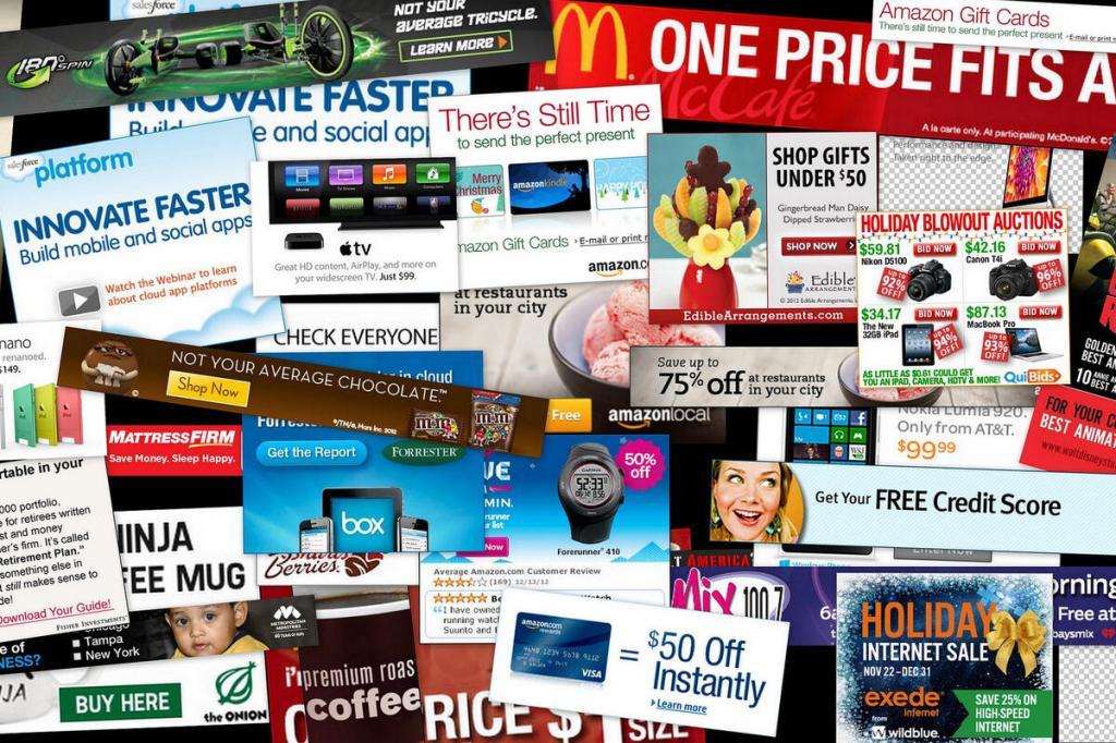 Обилие рекламы MFA
