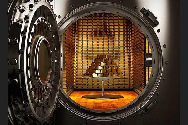 золото в депозитарии