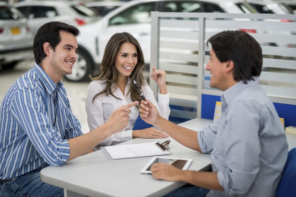как взять подержанную машину в кредит