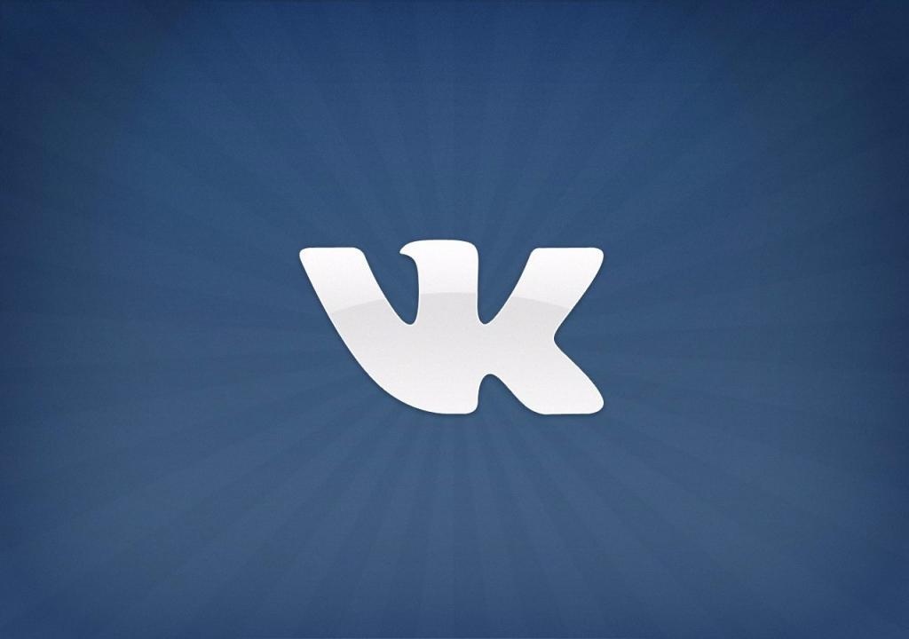 Логотип социальной сети ВКонтакте.