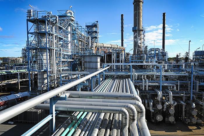Завод по перекачке газа