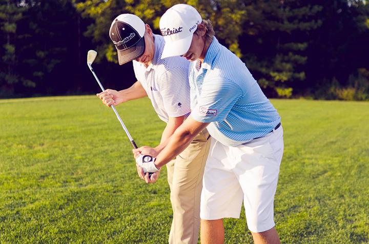 Тренер по гольфу в Америке.
