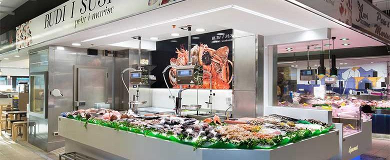 ассортимент рыбного магазина